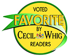 Cecil Whig Favorite Award